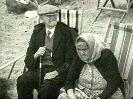 Tourists at Fishguard despite the police road blocks and snipers. Don't complain when there's a second wave
