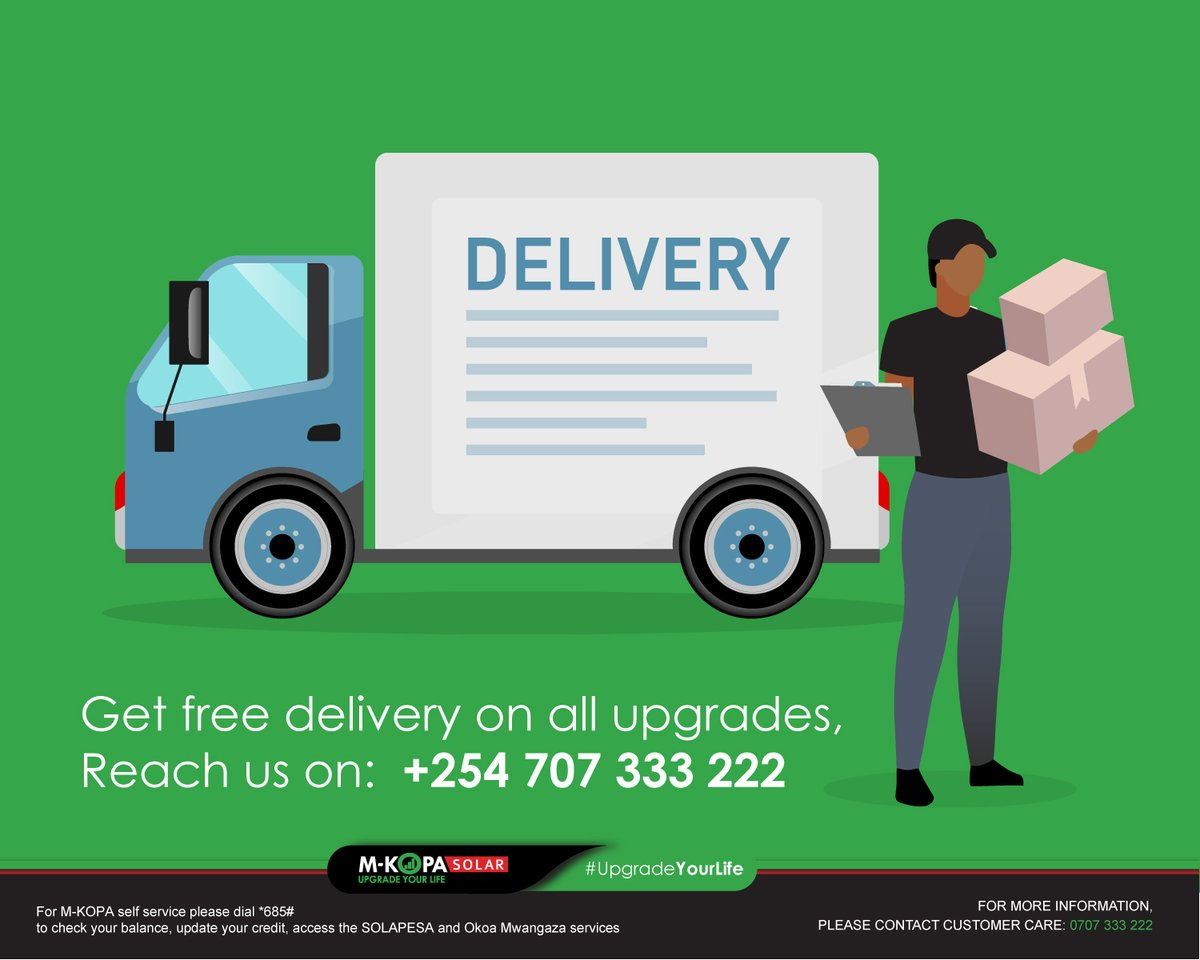 Are you looking to upgrade your device to the next available product? Get all your products delivered to your house free of charge. Reach us on: +254 707 333 222 today. See our products here: https://t.co/Wrkp606tBx #StaySafe #EssentialService https://t.co/TjCiqheeei