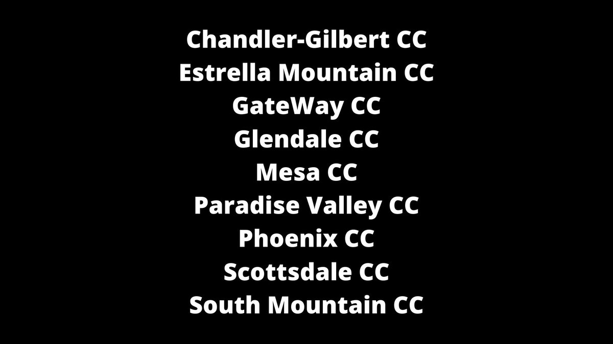 Heard from a lot of coaches about this one over the past 12 hours...the Maricopa County Community Colleges (Arizona) have canceled all sports for the 2020-21 school year. Ten colleges reportedly affected: https://t.co/nCI4q8JkLz