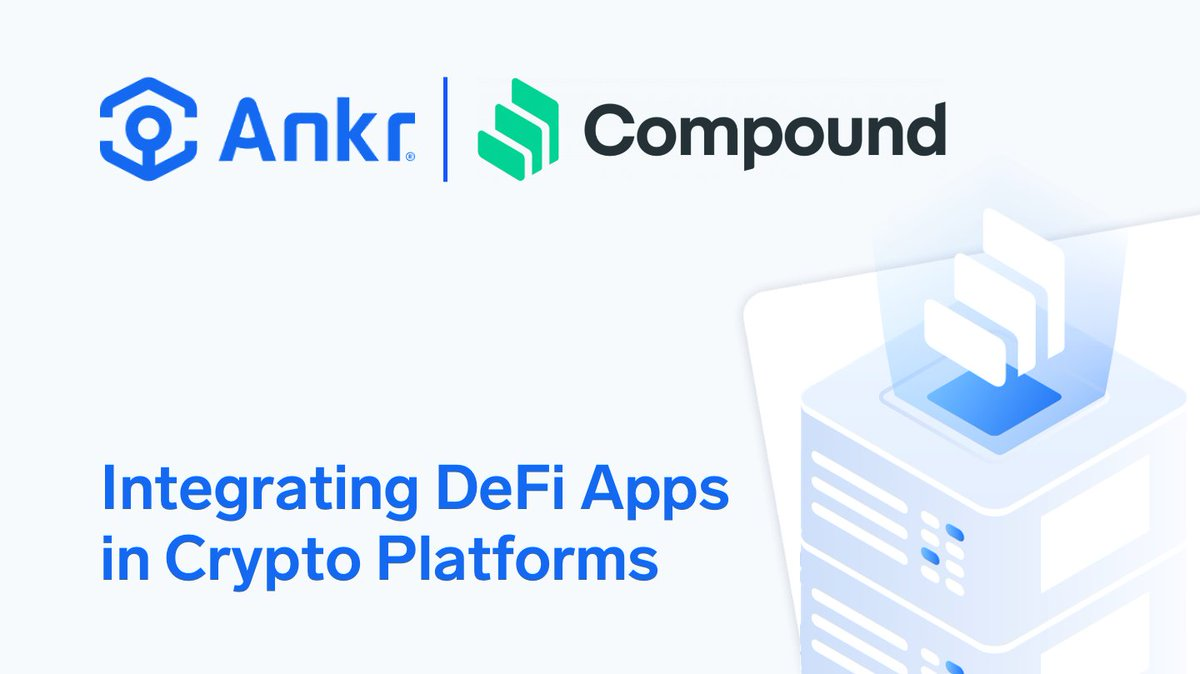 We are proud to present our industry-first, one-click API integration service for the @compoundfinance #DeFi protocol! Read all about it here: bit.ly/AnkrXCompound #Ankr $ANKR $COMP