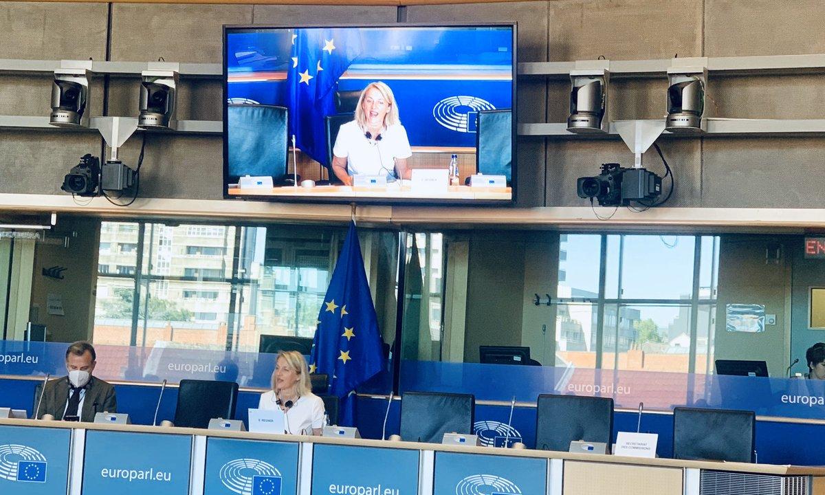 Heute tagt wieder der #FEMM und es steht einiges auf der Agenda: 👉 #Covid_19 & Frauen 👉 Gleicjstellungsfragen bei künstlicher Intelligenz 👉 Rechtsstaatlichkeit in Polen 📺  https://t.co/0UTpUScbxe https://t.co/urs0GCYi45