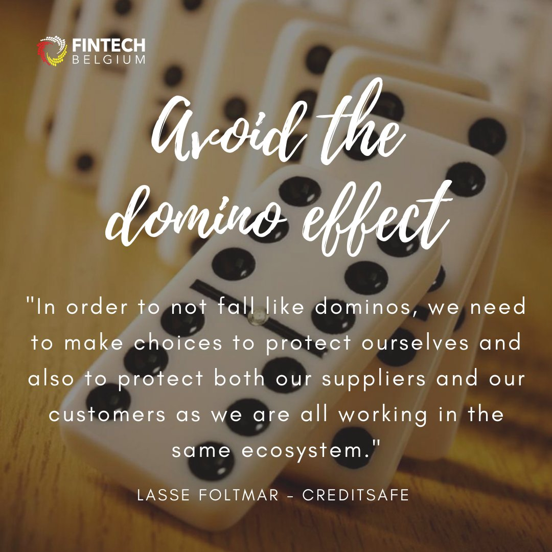 - QUOTE OF THE DAY - By Lasse Foltmar from @Creditsafe, during our 10th #webinar session on #CreditRisk Management.  During tomorrow's webinar, we will focus on #Healthy Financials! Register now!  https://t.co/KJ7GvNLgxC https://t.co/PphdC7UIDN