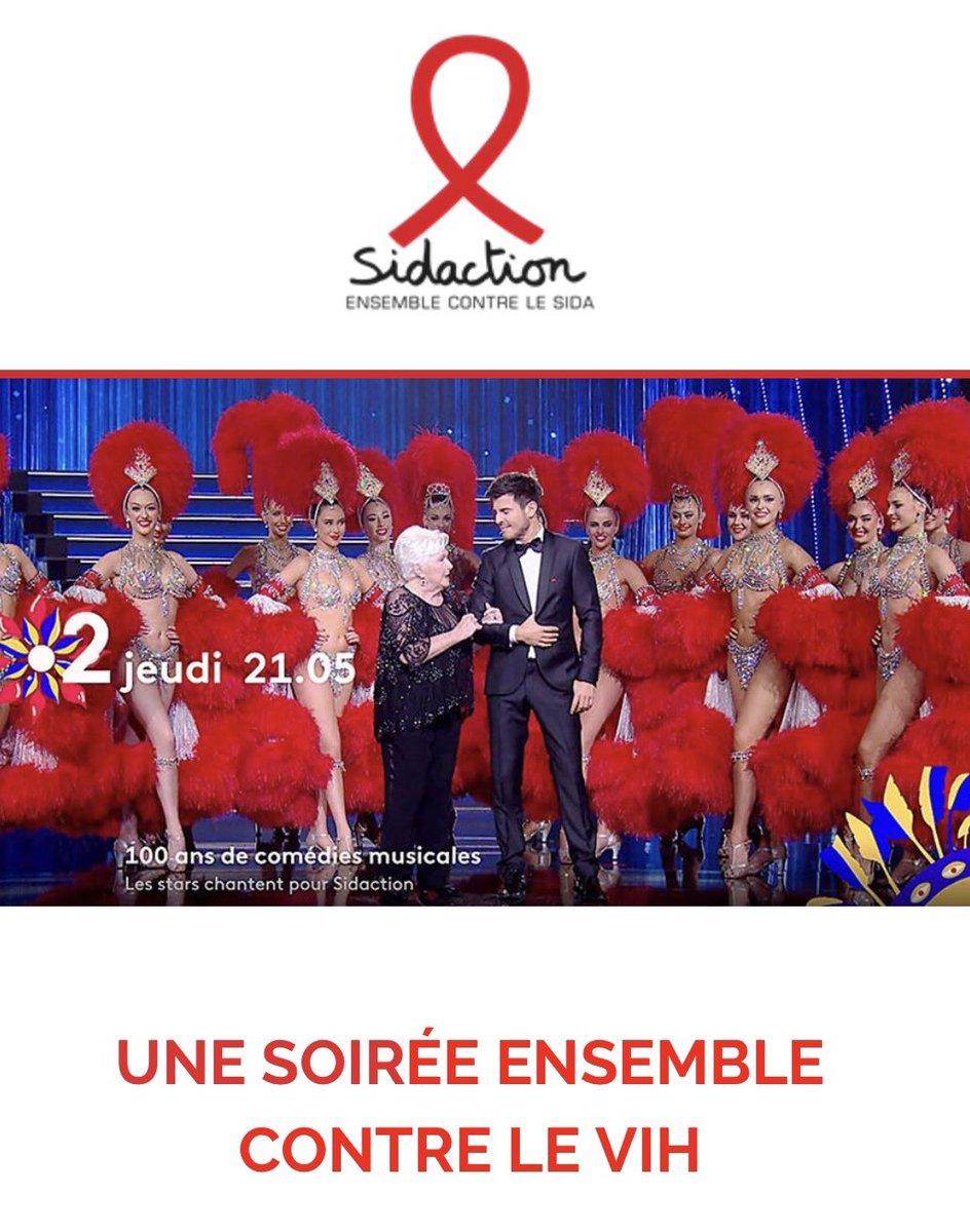 Le Moulin Rouge soutient le Sidaction ! Retrouvez ce jeudi à 21h05 sur France 2 nos danseuses en compagnie de Anggun et Vincent Niclo !  https://t.co/ldzcILyPDE https://t.co/ihLo6hCj9s