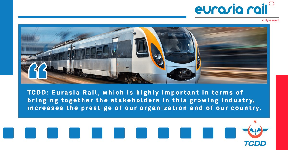 Ali İhsan Uygun, Director General of TCDD, The State Railways of the Republic of Turkey, explains why Eurasia Rail is important for Turkey and what it means to hold the exhibition in the city of Konya. 👉https://t.co/pmr3LI4998 #TCDD #railway #Konya #exhibition https://t.co/O8hZ1KnkNY