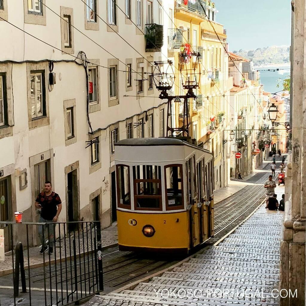 test ツイッターメディア - 急な坂道を一直線に上り下り、リスボンの公共交通機関ビカのケーブルカー。 #リスボン #ポルトガル https://t.co/FwfQ95oY51