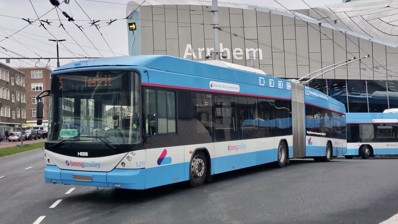 Trolleybus 2.0 in Arnhem
