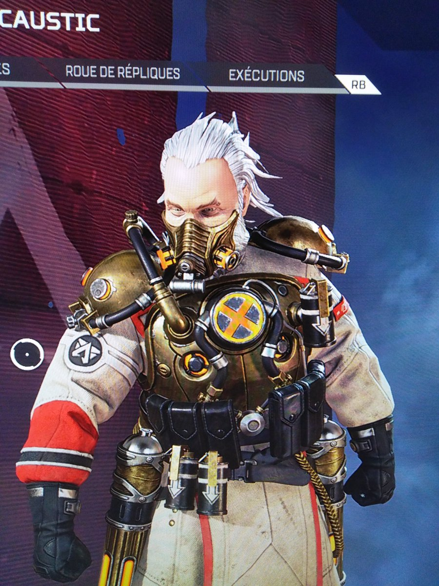#Geek Awesome of the Day: #Steampunk ⚙️ #Gasbuster Legendary #Caustic Skin - Lost Treasures Event in #ApexLegends #XboxOneX #Videogame via @Rudy101283 #SamaGames 🎮 #SamaGeek 🤓