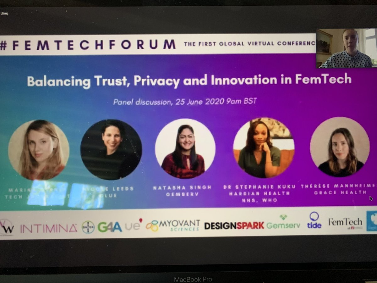 Looking forward to a day of women's health and tech 🤩⬇️ @Women_Wearables  @Intimina  @G4Ahealth  @Myovant  @GemservHealth  @femtech_  #FemTechForum2020 #FemTechForum https://t.co/vAtapkUGSV