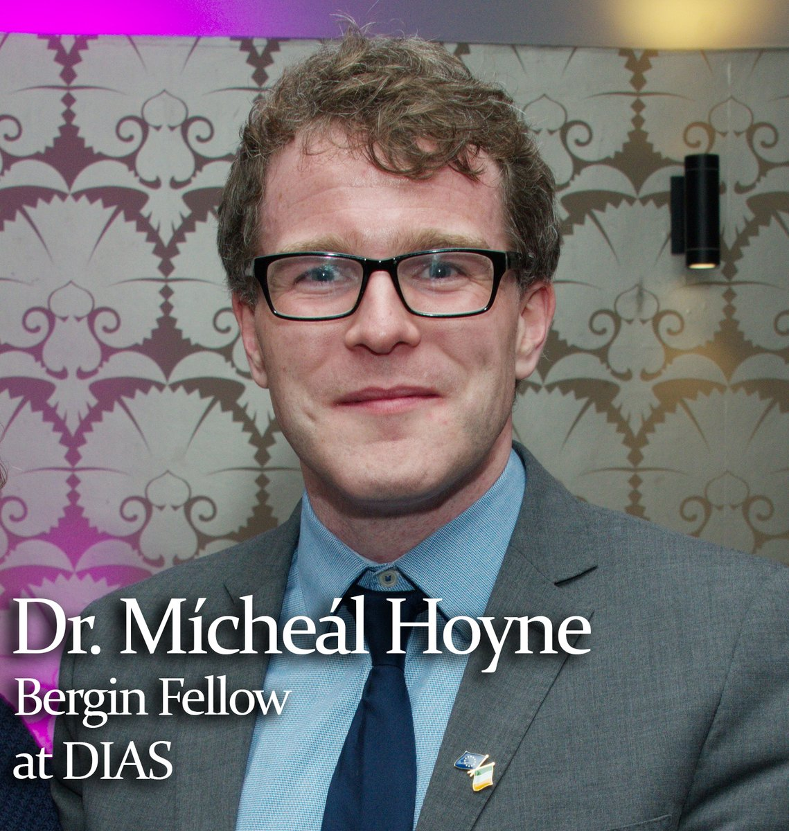 test Twitter Media - What does DIAS mean to you? We get to hear what Dr. Mícheál Hoyne, Bergin Fellow in the School of Celtic Studies at DIAS, has to say! https://t.co/bdNfcFoTLo