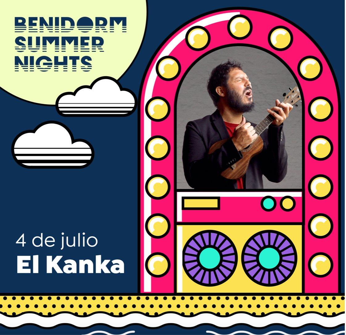 Como estáis #BeniLovers? Cargando energías para el concierto de esta noche de #ElKanka ? 🎉 Nos vemos hoy para cantar y disfrutar de #BenidormSummerNights! https://t.co/Qpz9Kw0xkU