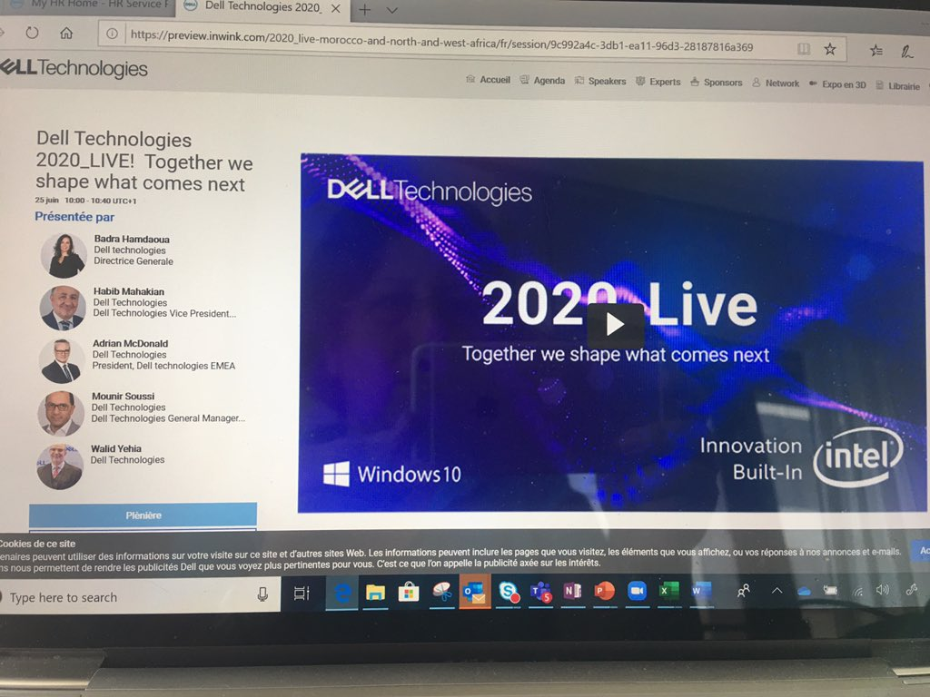 #Delltech2020_live Morocco & Northwest Africa plenary ended. You can still watch the plenary on demand  https://t.co/dsuKIv8NSm https://t.co/7jMZHZS7sC