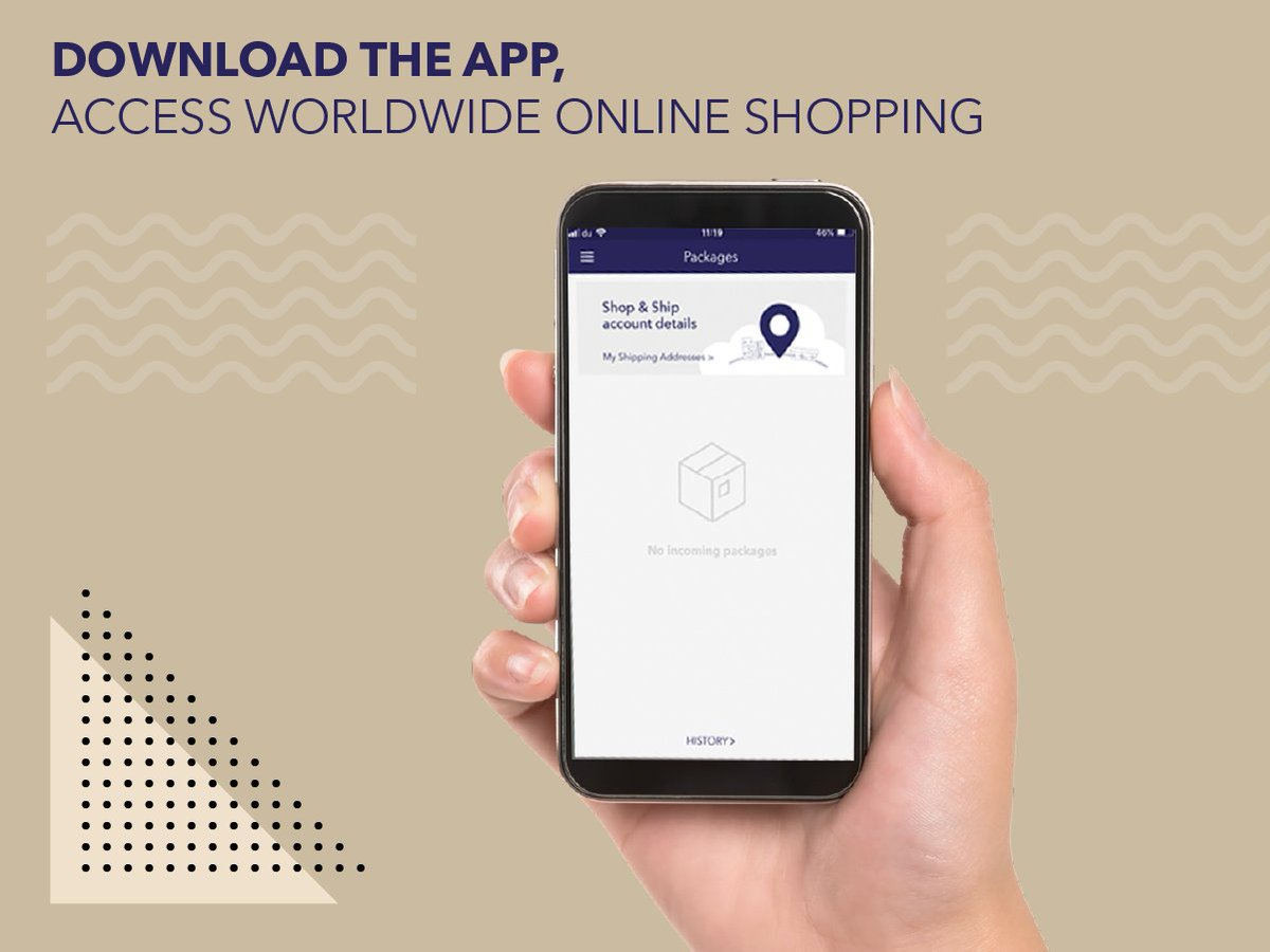 "Shop & Ship on Twitter: ""The Shop & Ship app lets you access shipment  tracking and many other useful features to access the world of online  shopping. Download it now to start"