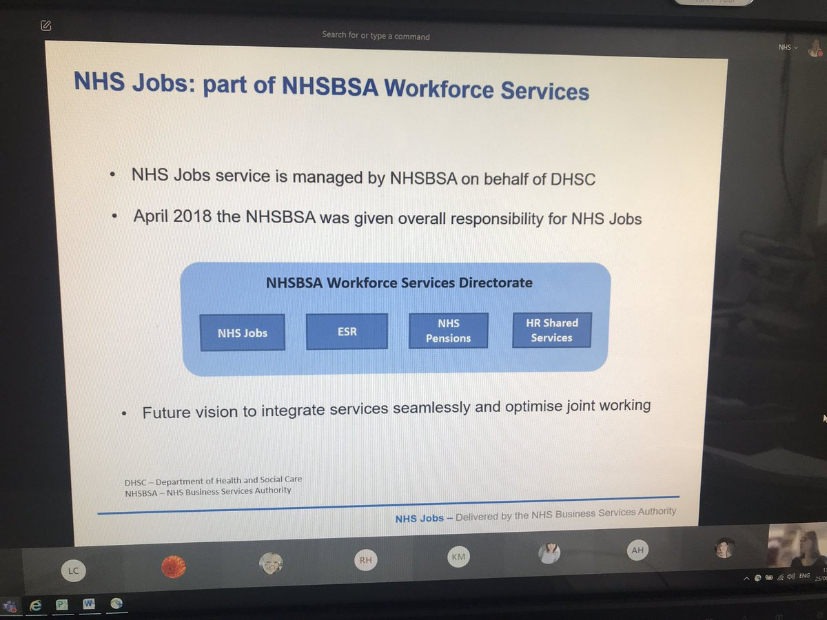 Overview of the new @NHS_Jobs system this morning hosted by Sharon Battersby with @CCS_recruit team #serviceimprovement