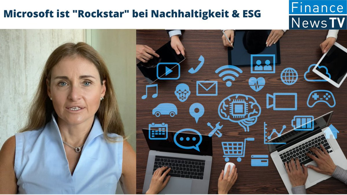 Auch eine #Corona-Erkenntnis: #Microsoft ist #Rockstar bei #Nachhaltigkeit & #ESG - #Klimawandel im #Fonds-Fokus. #Interview mit Nina Lagron von @FrancaiseGroup https://t.co/HiMfm5eab5 #SustainableBusiness #sustainable #ClimateChange #coronavirus #green #fonds #funds #stocks https://t.co/iTsho2aly5