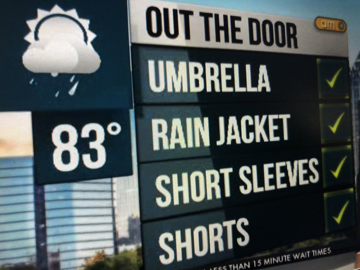 It's going to be a soaker today break out the rain gear #wsbtv
