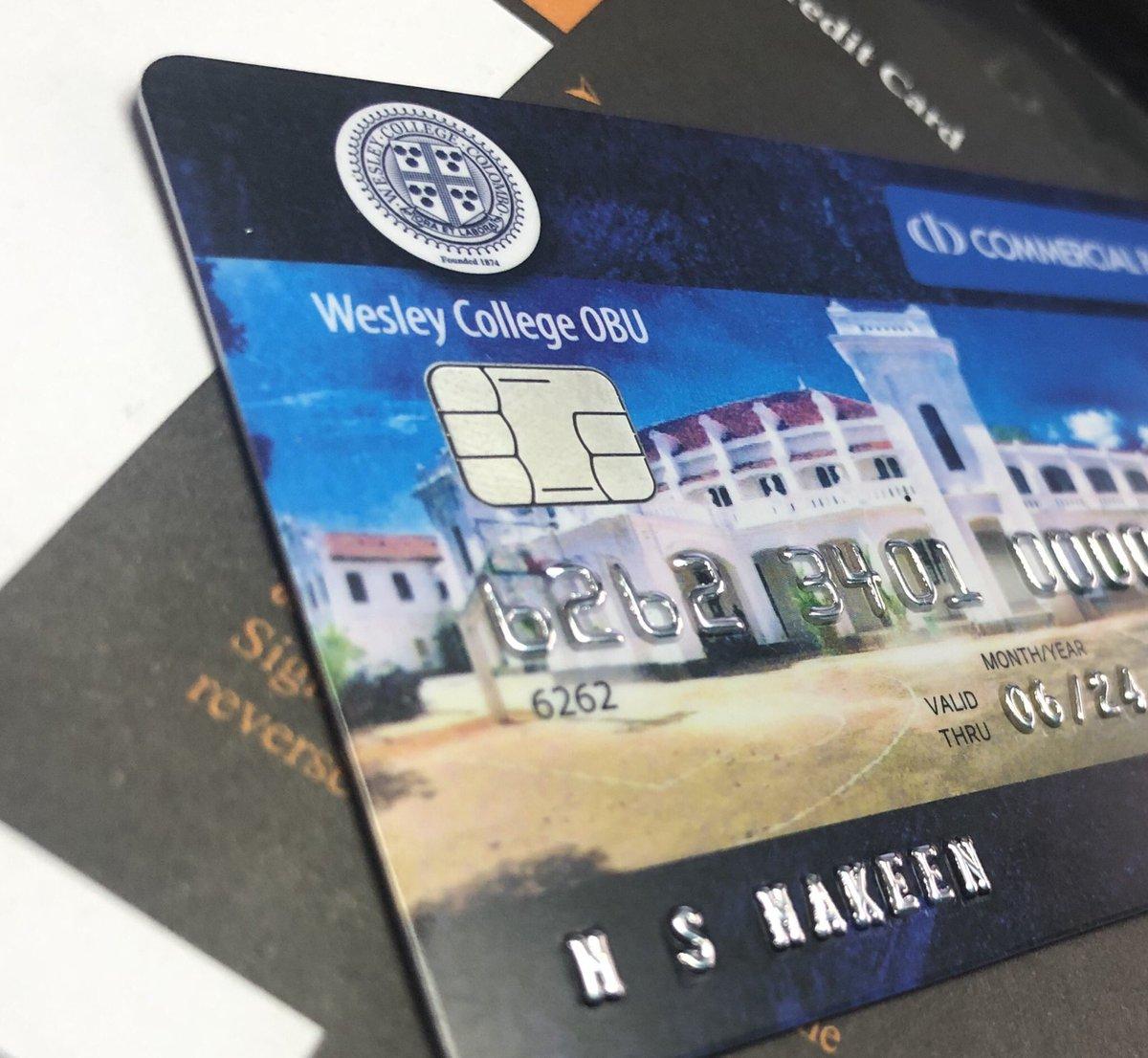 Received the @ComBank_LK co-branded #UnionPay Credit Card  #TimeToGiveBackToMyAlmaMater https://t.co/tY6EtisJCg