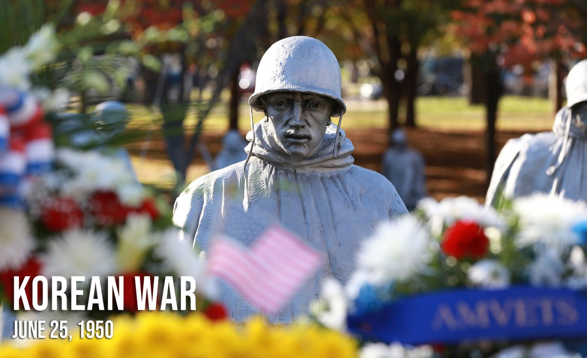 Today we remember and honor the men and women who served during the Korean War. #HonoringVets