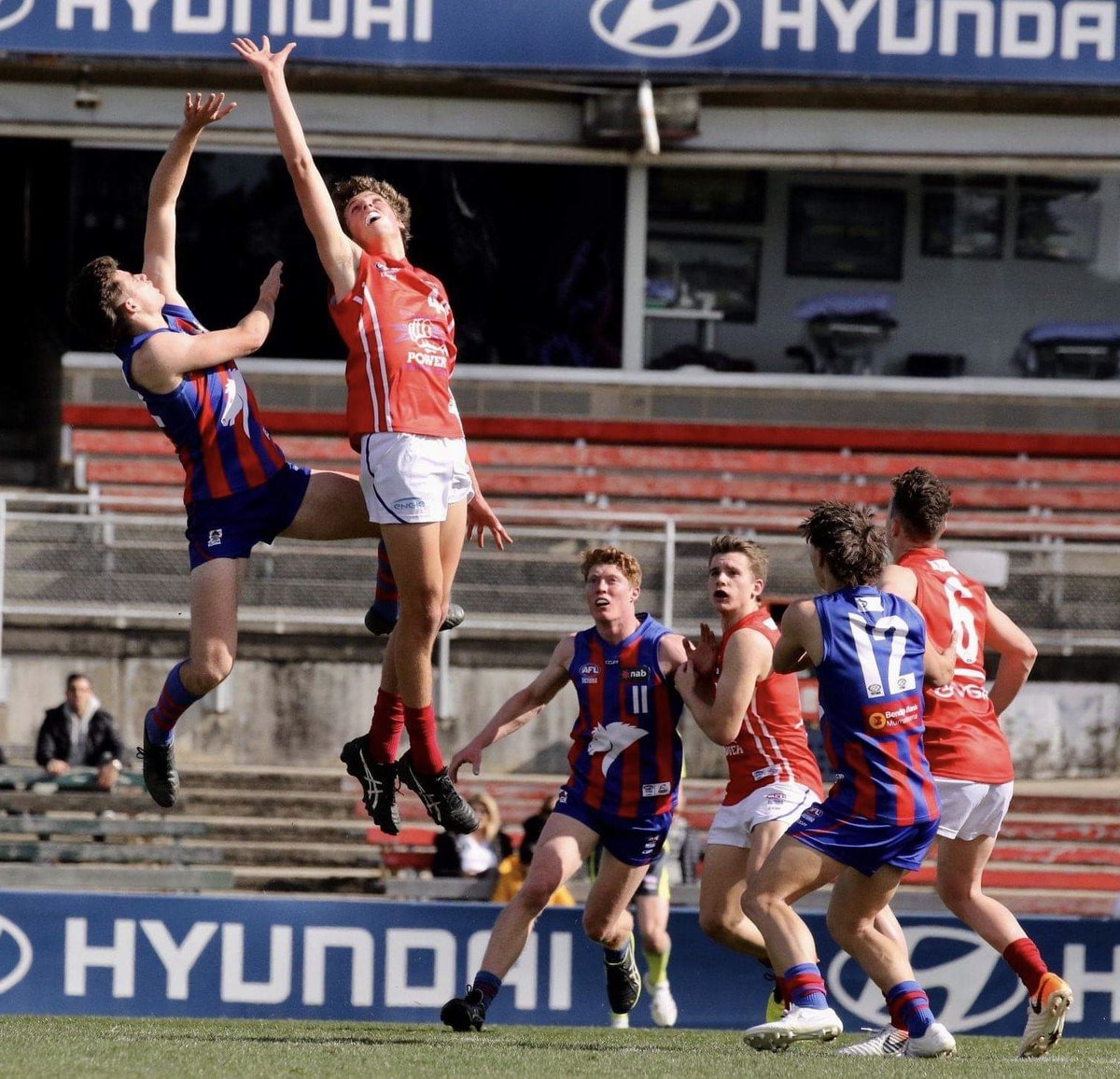 Checks the weekend @afl teams, very happy to see that the Rowell v Serong battle will continue on the big stage. #competitivebeasts