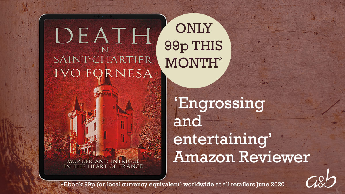 🇫🇷 Last chance! DEATH IN SAINT-CHARTIER is 99p worldwide until the end of June.  Get your copy of this intriguing murder mystery set in the heart of France now:  Kindle UK https://t.co/4OohpCWZti https://t.co/dLHLEd1WZT https://t.co/eVMtlrfaKU #CrimeFiction #France #whodunnit https://t.co/qMYp3IWeNl