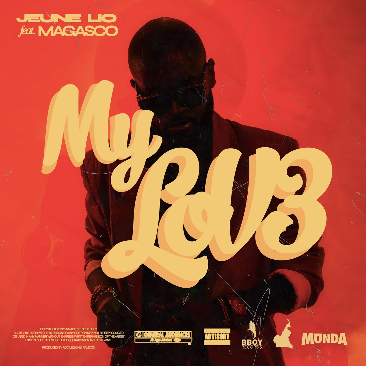 21.07.2020 the release date of my first music single «MY LOVE» with Cameroonian sensation @magasco_bboy aka the bamenda boy, a Cameroon 🇨🇲 collab for my first single was normal. Like i said yesterday, a music single why ? Because why not. Cover by @apm_maathio @mondalife https://t.co/5LrS9tGTW9