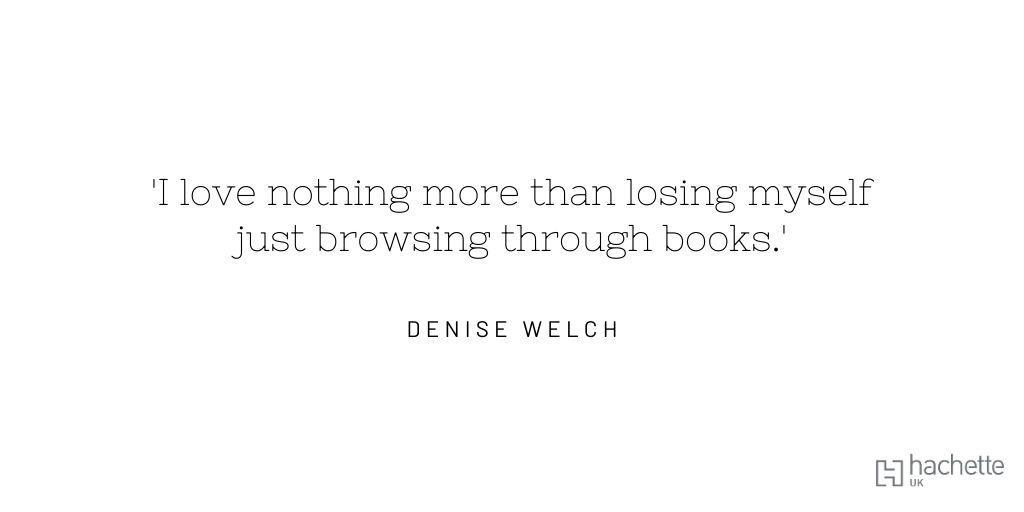 #IndieBookshopWeek @booksaremybag@RealDeniseWelch@HodderBooks