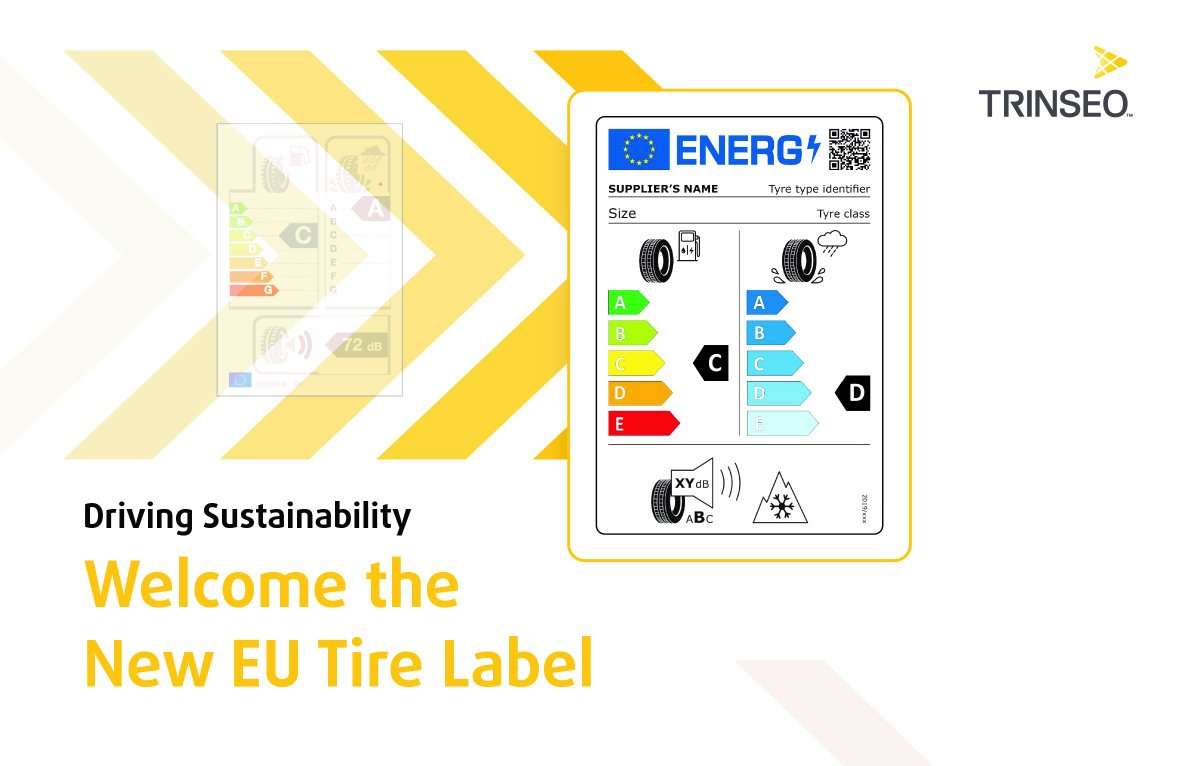 Today, Trinseo welcomes the improved EU #TyreLabel laws. Our Solution-Styrene Butadiene Rubber allows for outstanding low #RollingResistance, grip, and wear performance - empowering global tire manufacturers to achieve maximum effectiveness.  Learn more: https://t.co/9URIg4m3hB https://t.co/BOKnUN9mP7