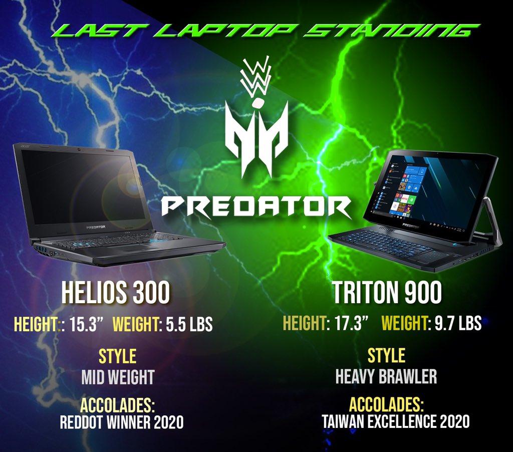 Who has the advantage? Helios 300 Vs Triton 900 #WWENXT #AEWDynamite https://t.co/UDamElQ40t