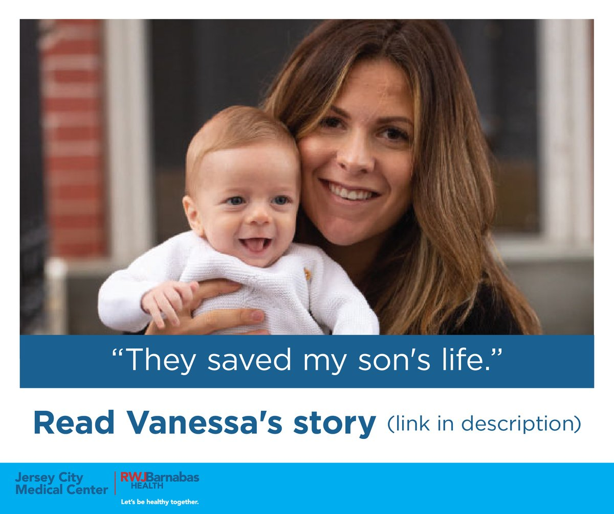 Read Vanessa's story & how @JCMedCenter saved her newborn. https://t.co/tBoY1DhII5   JCMC has taken every precaution. Our Lord Abbett Maternity Wing offers safety, comfort & privacy.  For info about our maternity services, visit https://t.co/xyJw6l7z0e  #LetsBeHealthyTogether https://t.co/qpiywE7hZ0