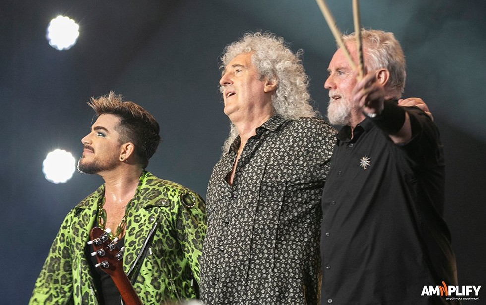 "EXCLUSIVE|In a new interview, Roger Taylor says that there is a Queen + @AdamLambert live album in the works:https://t.co/OY5FzpWdue  ""...a live album of highlights of concerts that we've done over the last eight years with Adam — we're really thinking about that actually."" https://t.co/9aYICrkJJu"