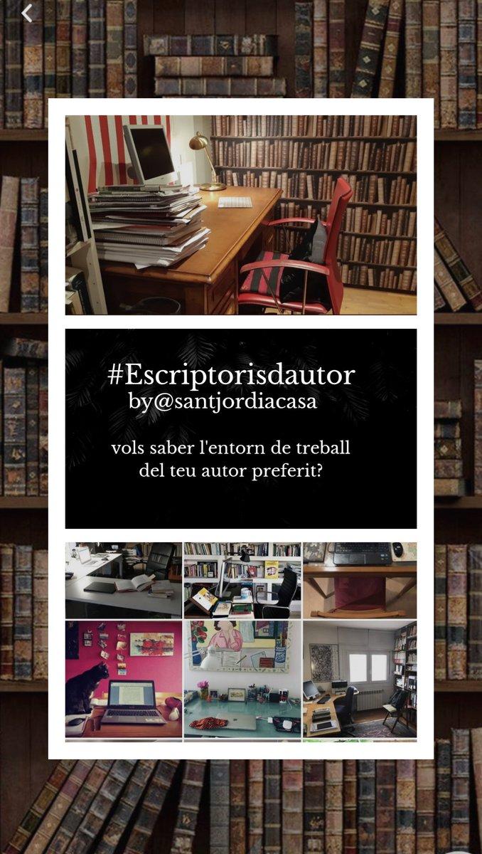 @JordiSolColl2 #Escriptorisdautor #santjordiacasa 🏡📚 #Lascrittriceabitaqui @petrignanis https://t.co/fdQ2erypgr