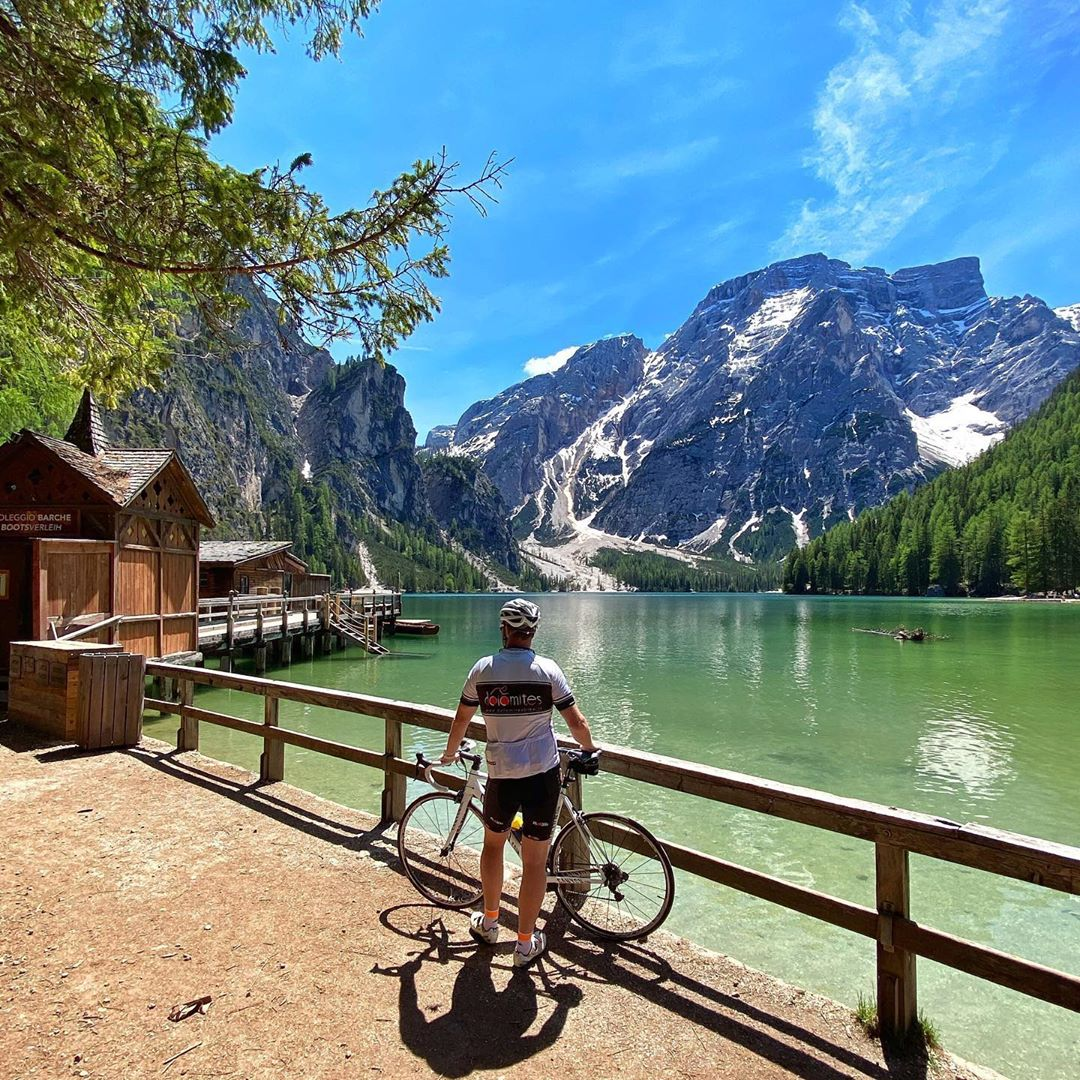 Being cooped up has made us all desperate to explore. Now we can travel again, the idea of cycling through the countryside feels exhilarating.   What activity can you not wait to do again?  Photo by @hotel_diana_dolomites https://t.co/xmV1xBQtXb