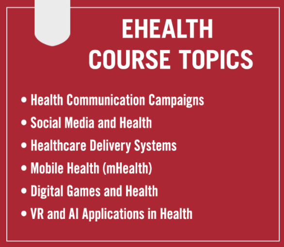 Students taking eHealth this summer learn about the intersection of health communication and technology, including the latest innovations used during COVID-19.   Jeong-Yeob Han of @AdPR_UGA teaches this graduate-level course.   Read more: https://t.co/5TLzGrHBux https://t.co/oDM9U3bMgO