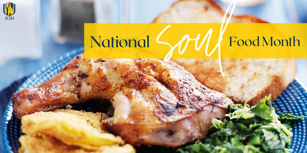 It's National Soul Food Month! Our African-American culinary heritage is rich, enticing, and ab-SOUL-utely delicious!  • • Tell us your favorite soul food and/or Black-owned restaurant, catering service or food product! 🍽🥧 https://t.co/Ecok3Uy8Ss