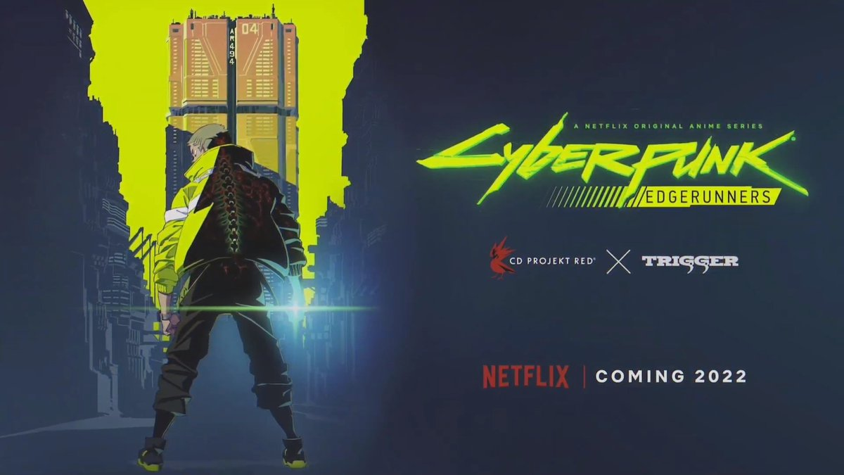 The studio behind Kill la Kill and Promare is making a Cyberpunk 2077 anime for Netflix