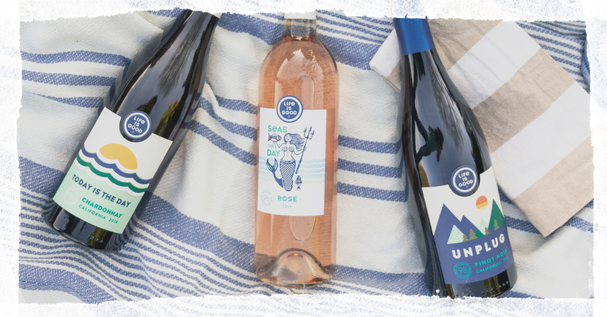 Rosé all day! We partnered with 90+ Cellars to release Seas the Day Rosé, a tableside reminder to focus on the good this summer 🧜‍♀️🌊 Find it here: https://t.co/OtchEOMf8u https://t.co/MuWdEOtSaU