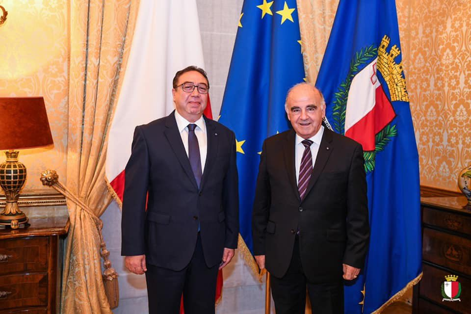 This morning I welcomed the Ambassador of Tunisia to Malta H.E. Zyed Bouzita. We discussed unfolding events in our shared Med. region. I congratulated Tunisia on its tenure at the UN Security Council and urged for concrete action in the interest of stability in the Mediterranean. https://t.co/Xr1dNy0YaN