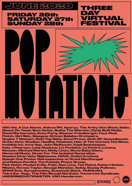 Hey am performing 4 new Robert Sotelo songs online tomo evening as part of @popmutations with my fiancee @GemmaFleet at 6.15pm after the genius Ben Wallers. Tune in loads of stuff all weekend. facebook.com/events/1771878…