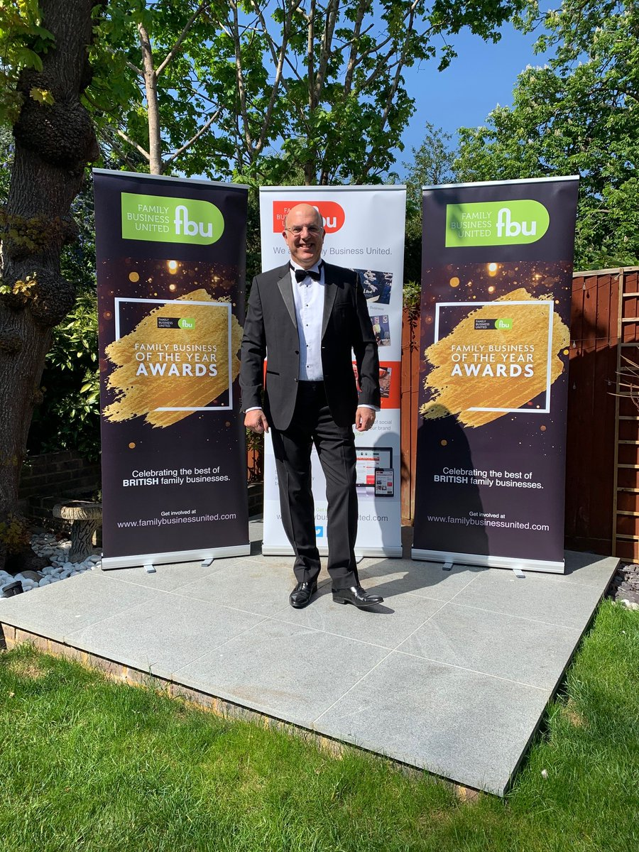 Soon be time to get dressed ready for the show!  Looking forward to lots of pictures from all the teams getting together to support their family firms too!  Good luck to all the finalists #FBOTY2020 https://t.co/vwzZHPg1OG