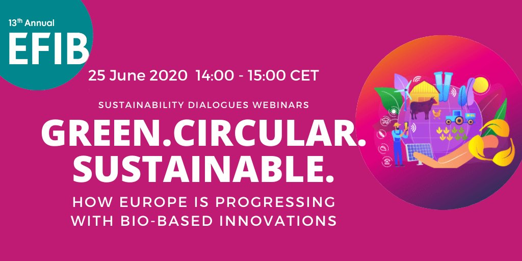 test Twitter Media - Thank you to all our speakers for their insights on how the EU can progress with biobased innovation during our first webinar in the #SustainabilityDialogues! Today's fascinating discussion was just the first step in our journey to #EFIB2020 ⤵️  https://t.co/W4iQM3b25f https://t.co/ZrmH972T9z