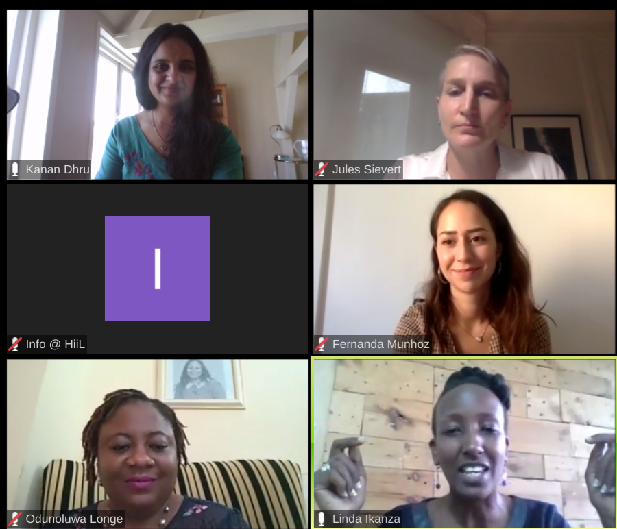 Still buzzing with ideas and inspiration from our wonderful webinar yesterday on women shattering the glass ceiling in innovation and social justice!    Thank you for creating this space: @InnoJustice @DIYlawNG @NuLawLab @bihoogo @AppNkola @kanandhru @Chat2Bo https://t.co/7rXo0w4GS0