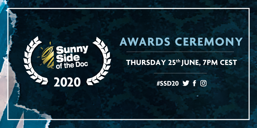 ◣ AWARDS & CLOSING CEREMONY ◥   The international jury have selected the best pitches for awards in cash and in kind!   Don't miss out the awards ceremony tonight in the Auditorium at 7pm CEST ➤  https://connected.sunnysideofthedoc.com  #AwardsCeremony #MEDIAprogEU #WeStandTogetherpic.twitter.com/hFC4pSlH8O