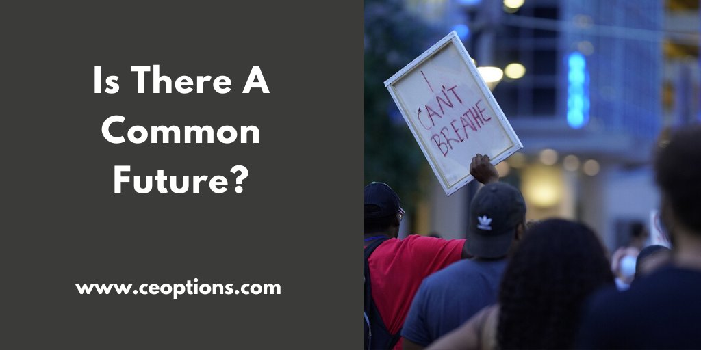 Those marching in protest, those looting, those salivating for violence, have all come together to lead us down the road, once again, so we have a forum to discuss our common future.  Read more: https://t.co/L9WAOD9o0J #commonfuture #blacklivesmatter https://t.co/e6nzOUJgEA