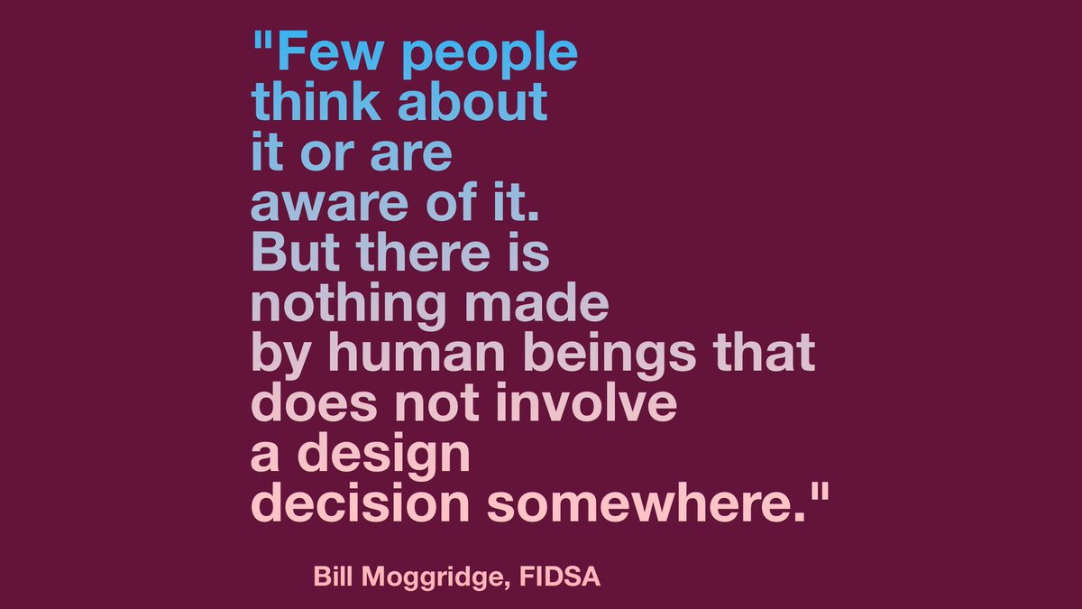Born on this day: Bill Moggridge, FIDSA (1943-2012), co-founder of @ideo, 4th director of @cooperhewitt Smithsonian Design Museum, @stanforddschool professor, and designer of one of the first laptop computers. https://t.co/pRbeGYpNUf
