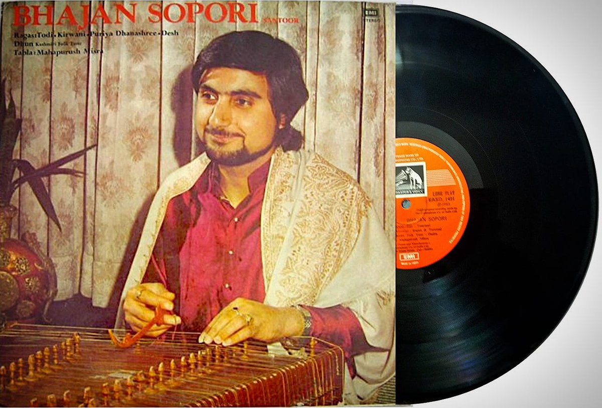 The good old days of LP records… The feeling of owning music records was so precious for music lovers that they wld hv a special & treasured music library at home. This one is from mine.  #bhajansopori #santoor #music #sufianagharana #soporibaaj #sopori #panditbhajansopori https://t.co/XiPZfM4M3c