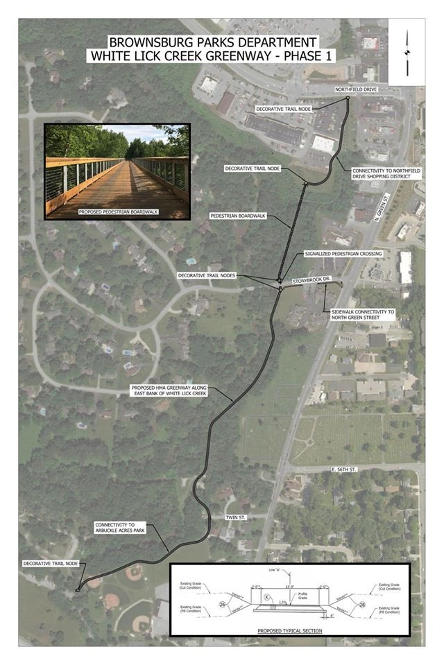 Constructions set to begin on White Lick Creek Greenway trail in @BrownsburgIN @BrownsburgParks   Town of Brownsburg Brownsburg Parks and Recreation  https://t.co/sODqusJDkp  #Greenway #Trails #Construction #BrownsburgIN #inHendricks #ALLinHendricksCounty https://t.co/XegBMccHw2