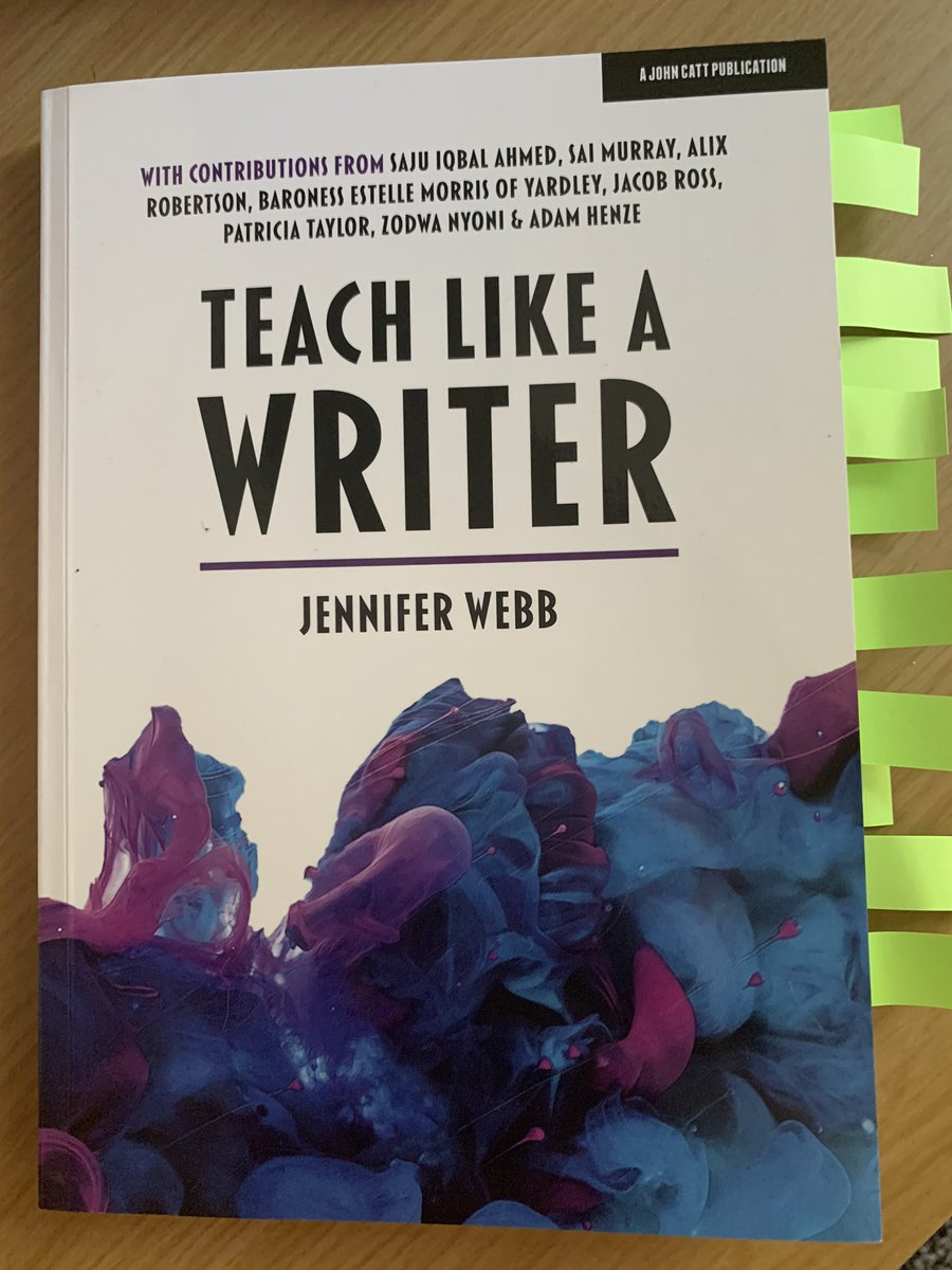 Honestly, this book... it's bloody brilliant. @FunkyPedagogy #TeamEnglish