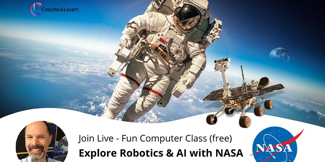 Did the recent @NASA and @SpaceX launch make your kid obsessed with outer space? In this free event (made for children in grades 4 to 10), students will meet #NASA's Dr. Frank to explore how humans and robots can work together in outer space. https://t.co/9C0vPpDOcj https://t.co/i2Mx7APb2S