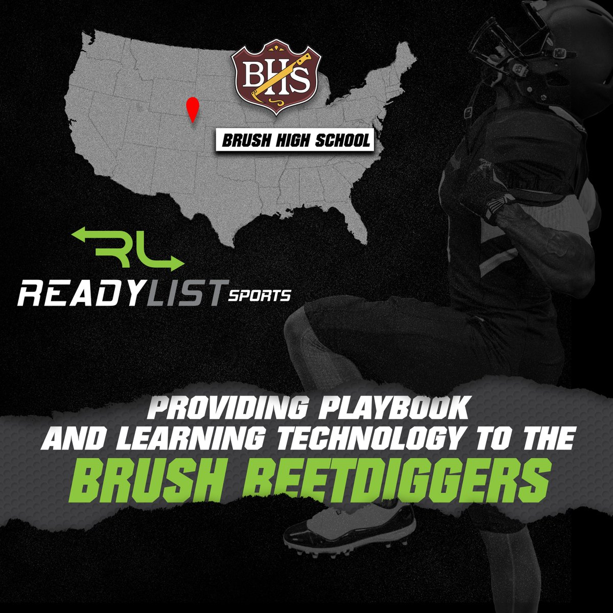 Five time state champion Brush High School is on the ReadyList platform! Preparation is key to success and our software will complement the Beetdigger football team as they hunt for another title. @brushfootball https://t.co/HI75tIVVgD