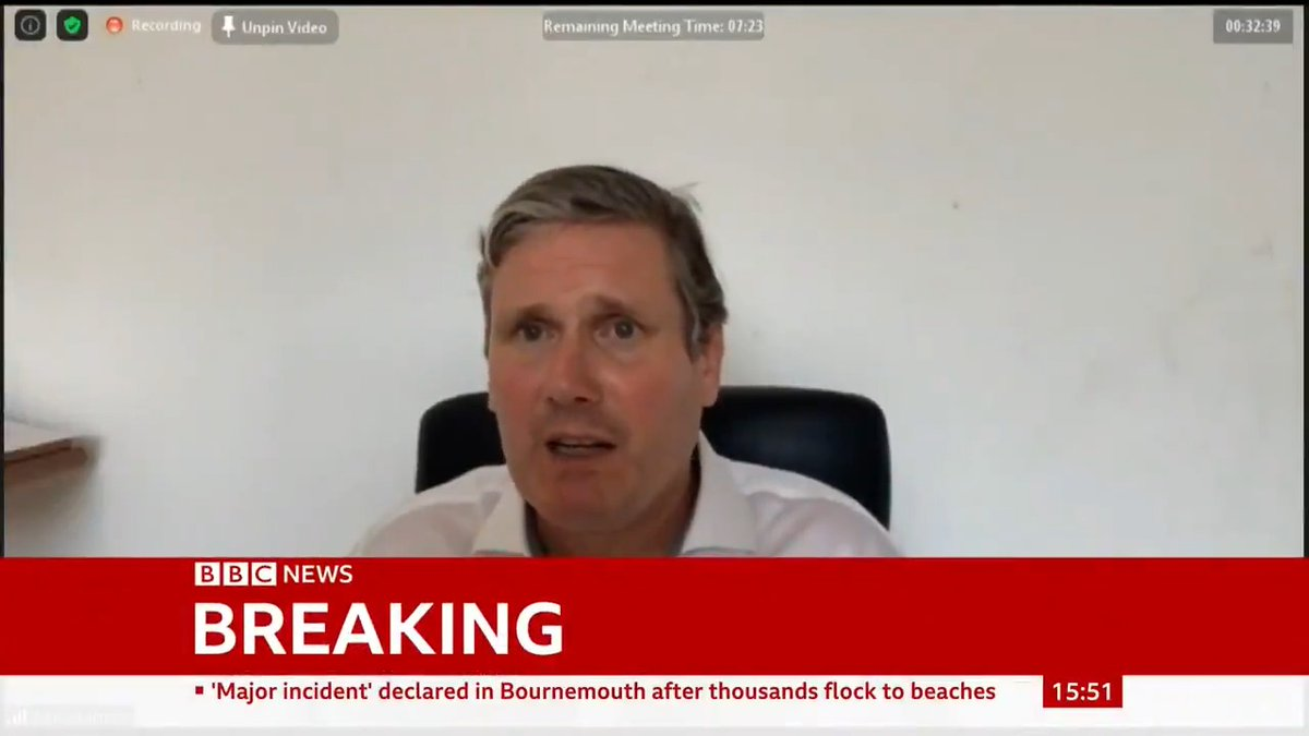 """I've made it my first priority to tackle anti-Semitism and rebuilding trust with the Jewish community is a number one priority for me,"""" says Keir Starmer as he sacks Rebecca Long-Bailey for sharing an article containing anti-Semitic conspiracy theory bbc.in/2Nu5rXc"""