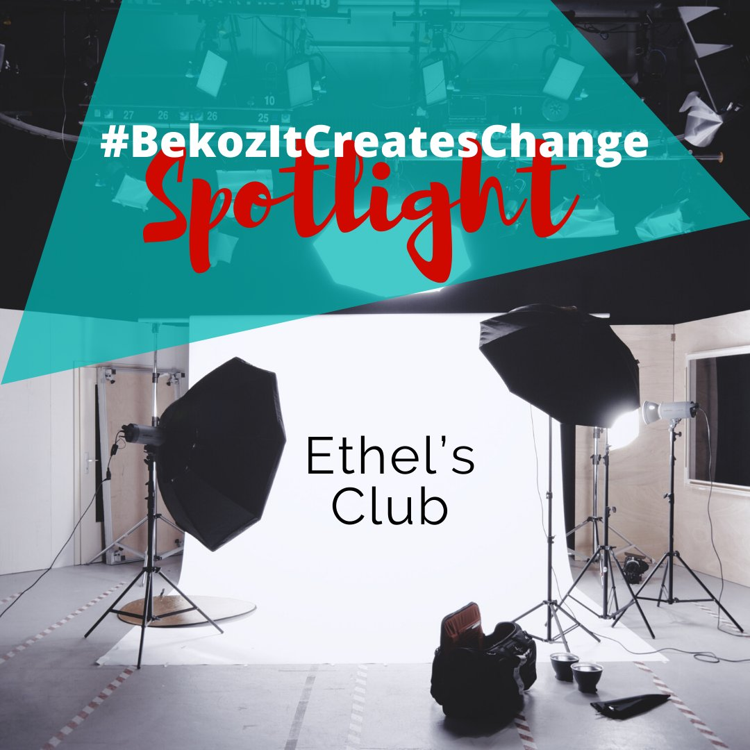 #BekozItCreatesChange Spotlight: @ethelsclub This social and wellness platform celebrates people of color and creates spaces for healing and creation. During these traumatic times, Ethels Club is offering free virtual healing and grieving circles. bit.ly/2XZsHT4